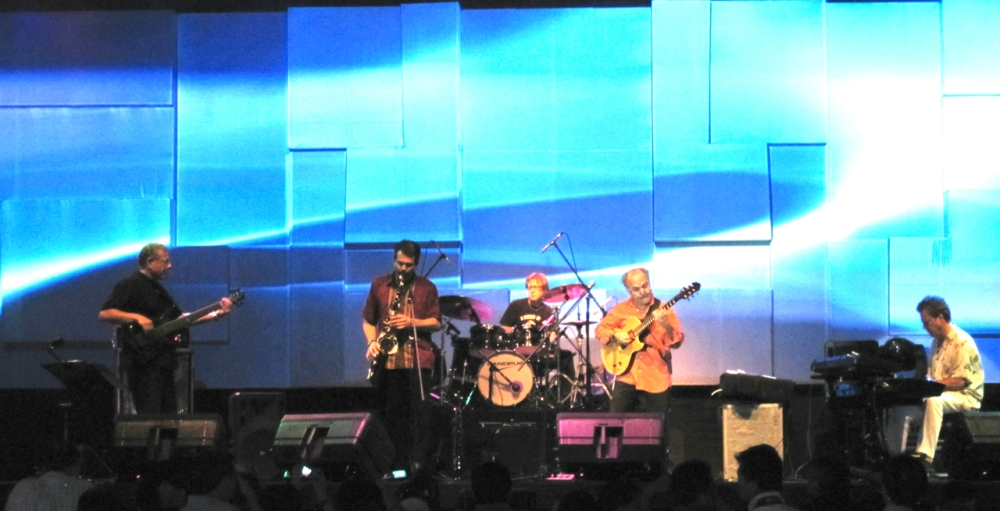 Kilimanjaro performing at The Java Jazz Festival in Jakarta, Indonesia