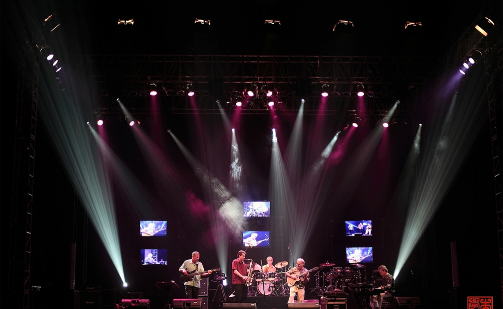 Kilimanjaro at the 1st performance at Java Jazz